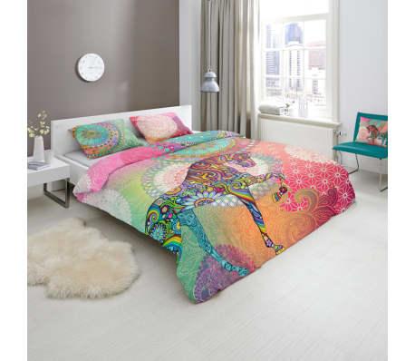 acheter hip housse de couette 5368 h sentha 200x200 220 cm multicolore pas cher. Black Bedroom Furniture Sets. Home Design Ideas