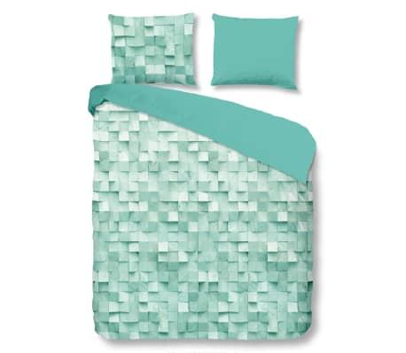 good morning bettw sche set 5381 a geometric 140 x 200 220 cm minze g nstig kaufen. Black Bedroom Furniture Sets. Home Design Ideas