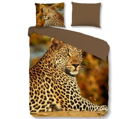 Good Morning Bäddset 5704-P Leopard 200x200/220 cm flerfärgat