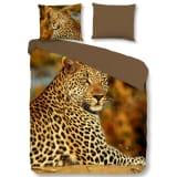 Good Morning Housse de couette 5704P Leopard 200x200/220cm Multicolore