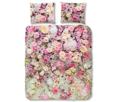 acheter good morning housse de couette 5720 p flower explosion 200x200 220 cm pas cher. Black Bedroom Furniture Sets. Home Design Ideas