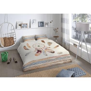 acheter good morning housse de couette 5554 p feathers 240x200 220 cm multicolore pas cher. Black Bedroom Furniture Sets. Home Design Ideas