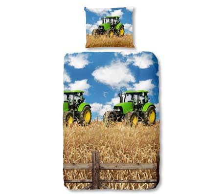 Good Morning Påslakan 5604-A FARMER 140x200/220 cm flerfärgat