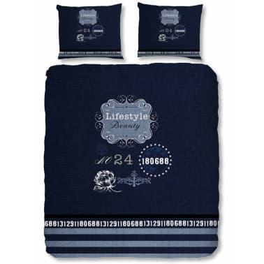 Good Morning Bettwasche Set 5719 P Lifestyle 140 X 200 220 Cm Blau