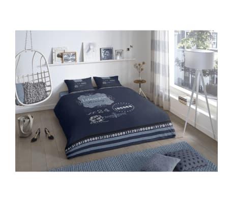 good morning bettw sche set 5719 p lifestyle 140 x 200 220 cm blau g nstig kaufen. Black Bedroom Furniture Sets. Home Design Ideas