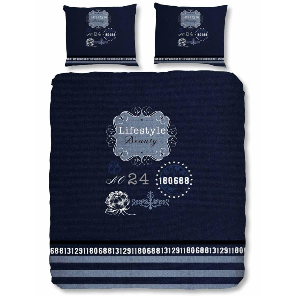 b738da72980 Good Morning sengetøj 5719-P Lifestyle 200 x 200/220 cm blå