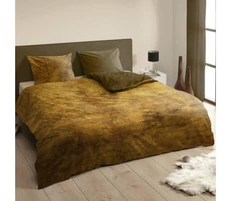 descanso bettw sche set 140 x 200 220 cm braun 9305 k g nstig kaufen. Black Bedroom Furniture Sets. Home Design Ideas