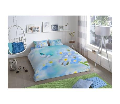 good morning bettw sche set 5770 p sympathy 240 x 200 220 cm blau g nstig kaufen. Black Bedroom Furniture Sets. Home Design Ideas
