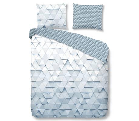 acheter good morning housse de couette 5685 a tria 200x200 220 cm gris pas cher. Black Bedroom Furniture Sets. Home Design Ideas