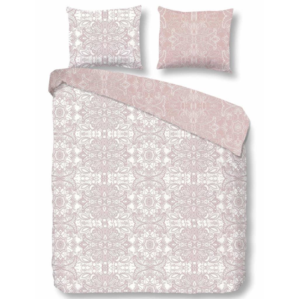 Liebenswert Microsatin Bettwäsche Dekoration Von Descanso Duvet Cover 9308-k 135x200 Cm Pink