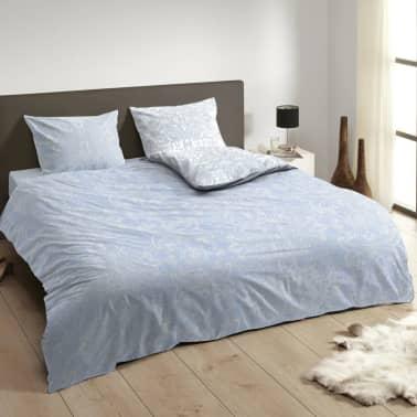 descanso bettw sche set 9308 k blau 140 200 220 cm g nstig kaufen. Black Bedroom Furniture Sets. Home Design Ideas