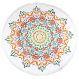 HIP Beach Towel 2066-H Martine Round 160 cm Multicolour