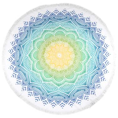 HIP Ręcznik plażowy 2067-H Carola, okrągły, 160 cm, wielokolorowy[1/4]