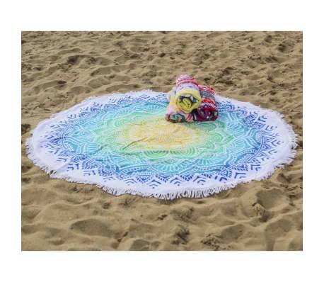 HIP Ręcznik plażowy 2067-H Carola, okrągły, 160 cm, wielokolorowy[2/4]