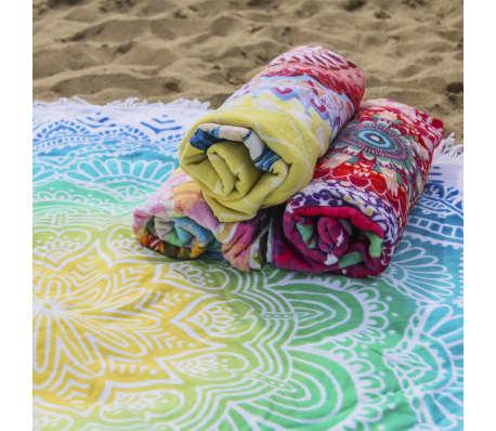 HIP Ręcznik plażowy 2067-H Carola, okrągły, 160 cm, wielokolorowy[4/4]