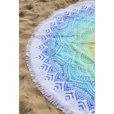 HIP Ręcznik plażowy 2067-H Carola, okrągły, 160 cm, wielokolorowy[3/4]