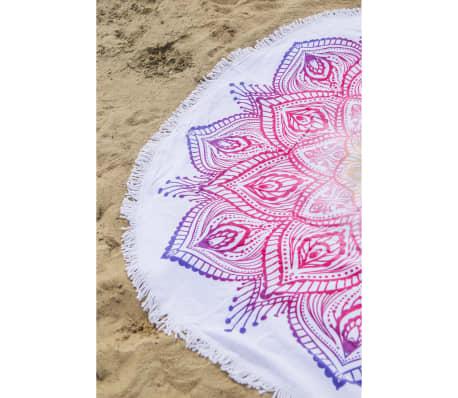 HIP Serviette de plage 2069-H Mirazo 160 cm Rond Multicolore[3/4]