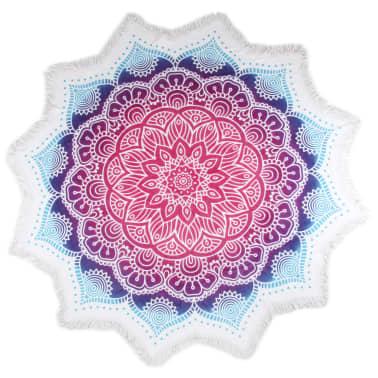 HIP Ręcznik plażowy 2070-H Helena, kształt kwiatu, 160 cm, kolorowy[1/3]