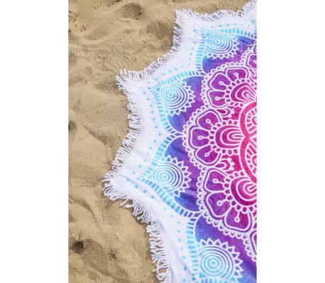 HIP Ręcznik plażowy 2070-H Helena, kształt kwiatu, 160 cm, kolorowy[3/3]
