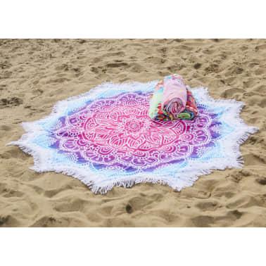 HIP Ręcznik plażowy 2070-H Helena, kształt kwiatu, 160 cm, kolorowy[2/3]