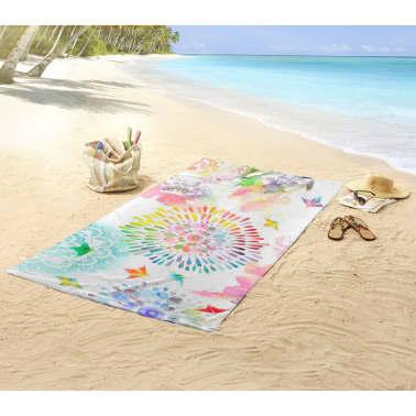 HIP Ręcznik plażowy 5582-H Elessa, 100 x 180 cm, wielokolorowy[3/3]