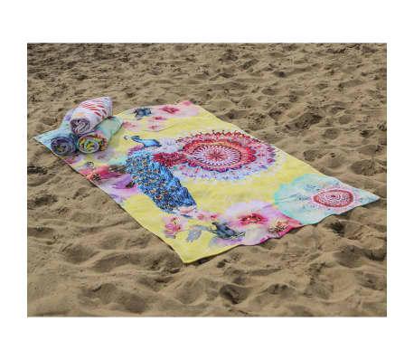 HIP Ręcznik plażowy 5584-H Yelpea, 100 x 180 cm, żółty[1/3]