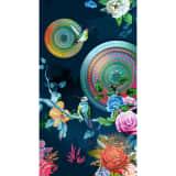 HIP Serviette de plage 5850-H Chachou 100 x 180 cm Multicolore