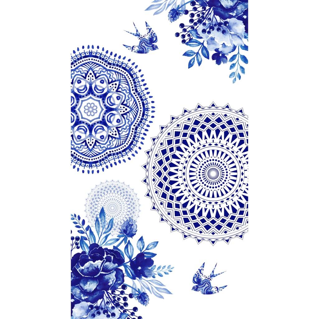 Afbeelding van HIP Strandlaken 6099-H Grande 100x180 cm blauw