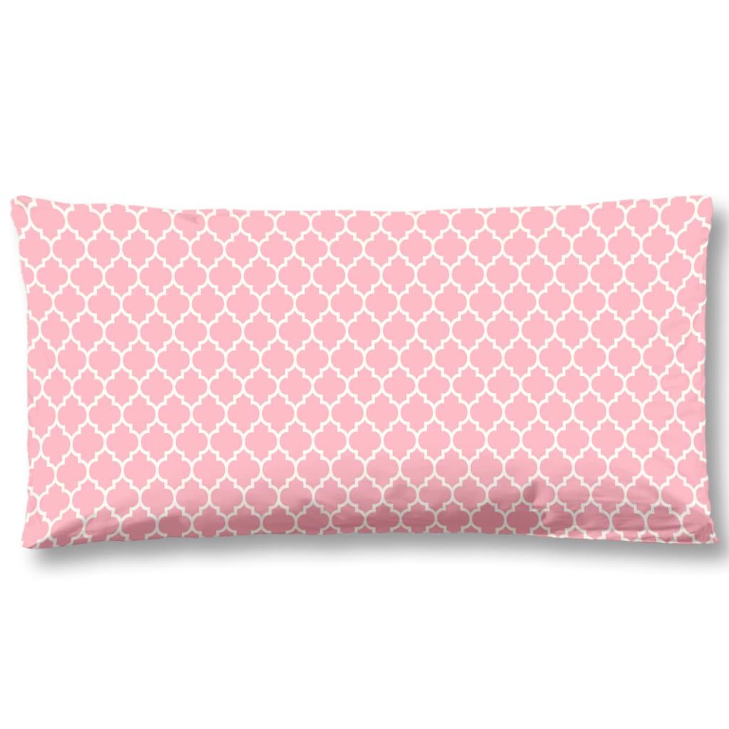 Afbeelding van HIP Kussensloop 6097-H Milika 40x80 cm roze