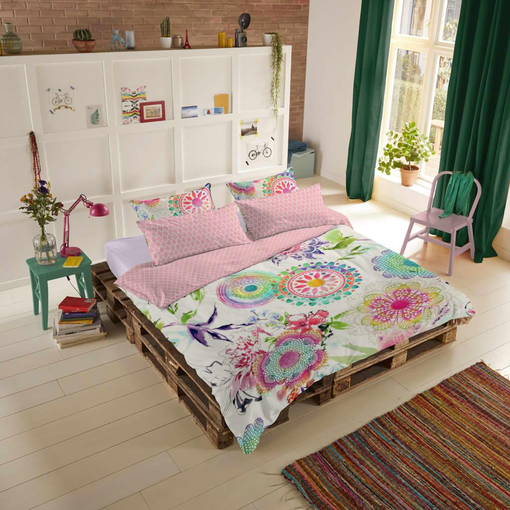 HIP Kussensloop 6097-H Milika 40x80 cm roze