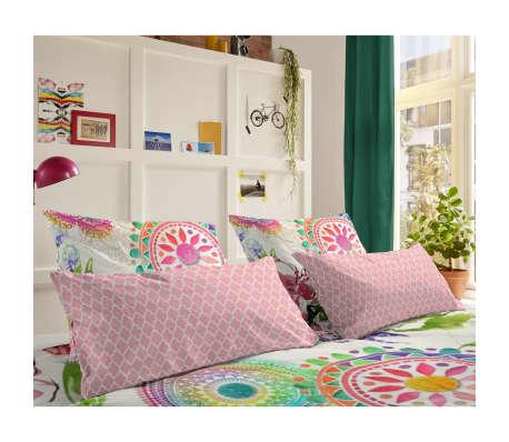 HIP Poszewka na poduszkę 6097-H Milika, 40 x 80 cm, różowa[1/3]