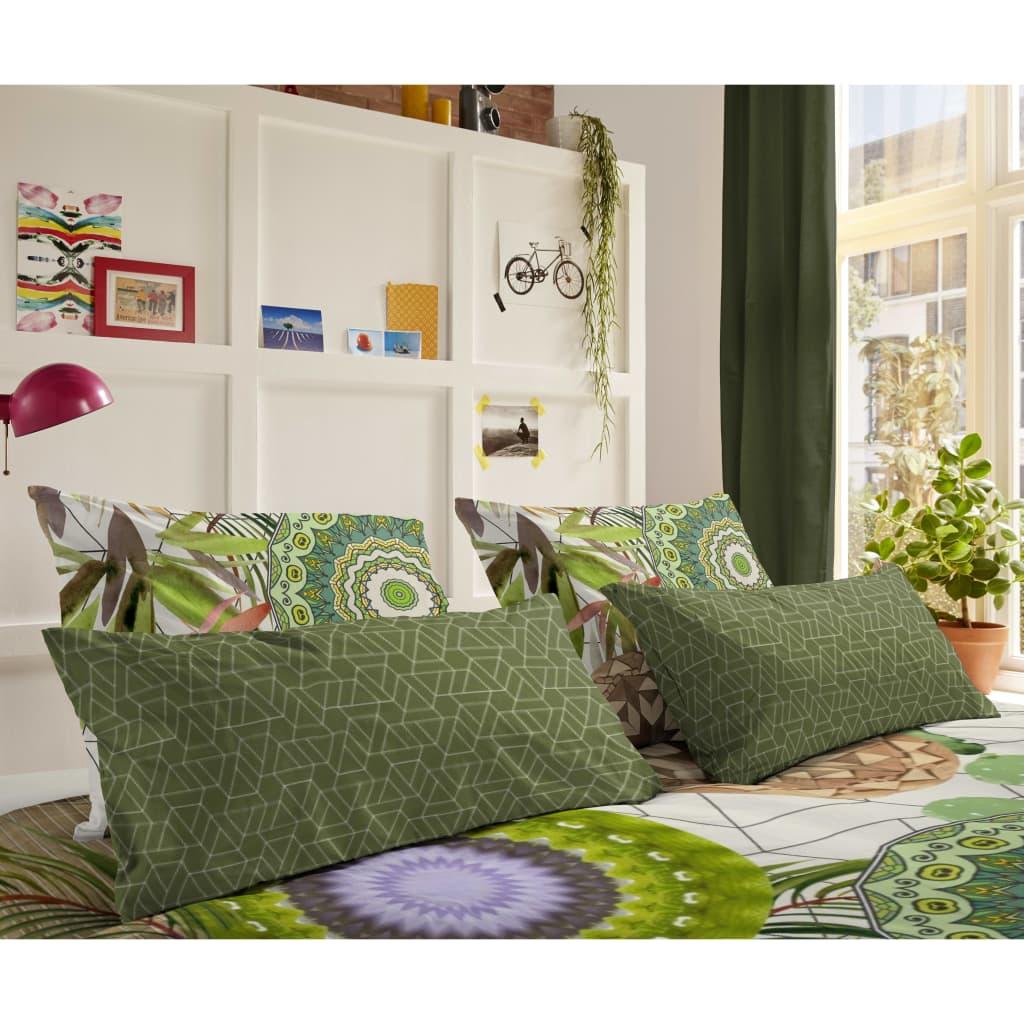 HIP Kussensloop 6113-H Bodhini 40x80 cm groen