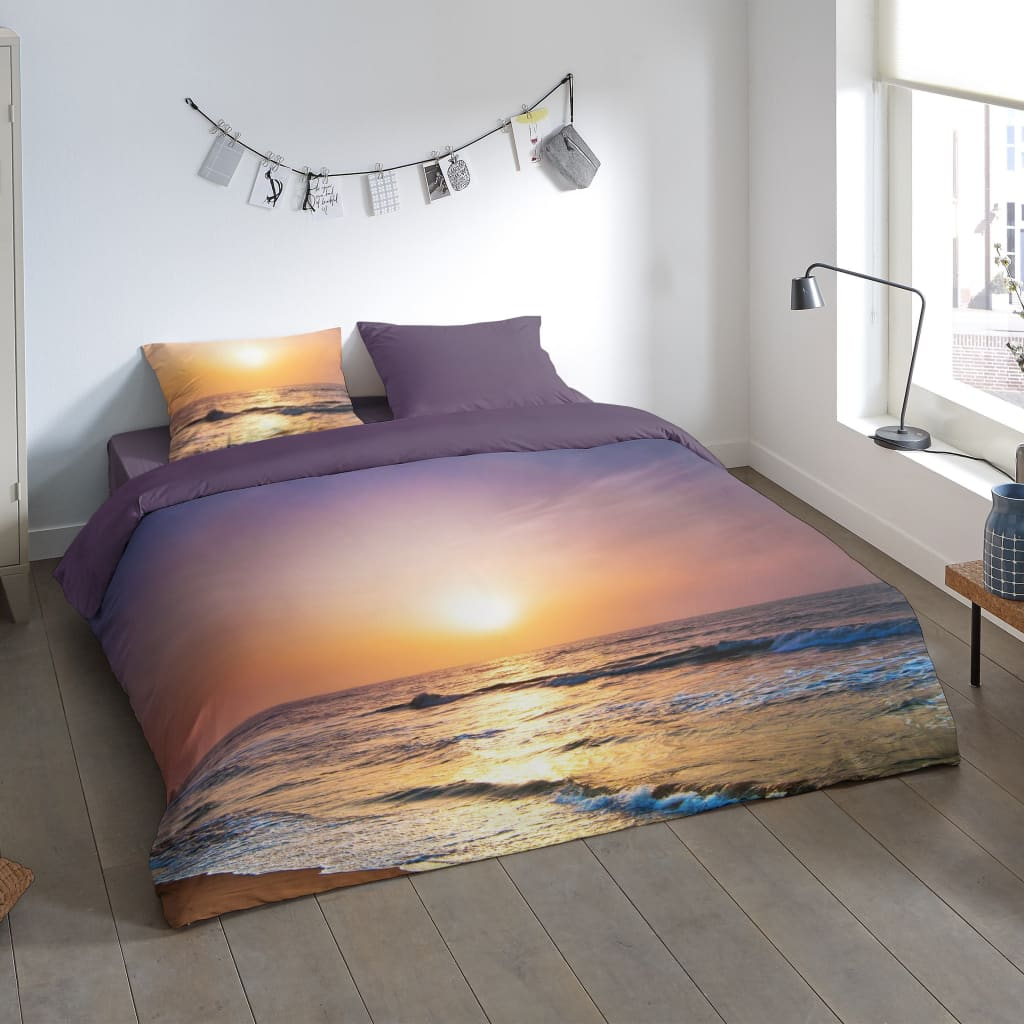 Pure Dekbedovertrek 6069-M Sunset 200x200/220 cm meerkleurig