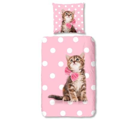 Good Morning Bäddset SWEET CAT för barn 135x200 flanell[1/2]