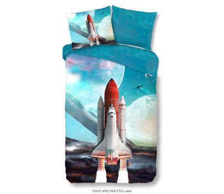 Good Morning Bäddset för barn Space Shuttle 140x200/220 cm[1/2]