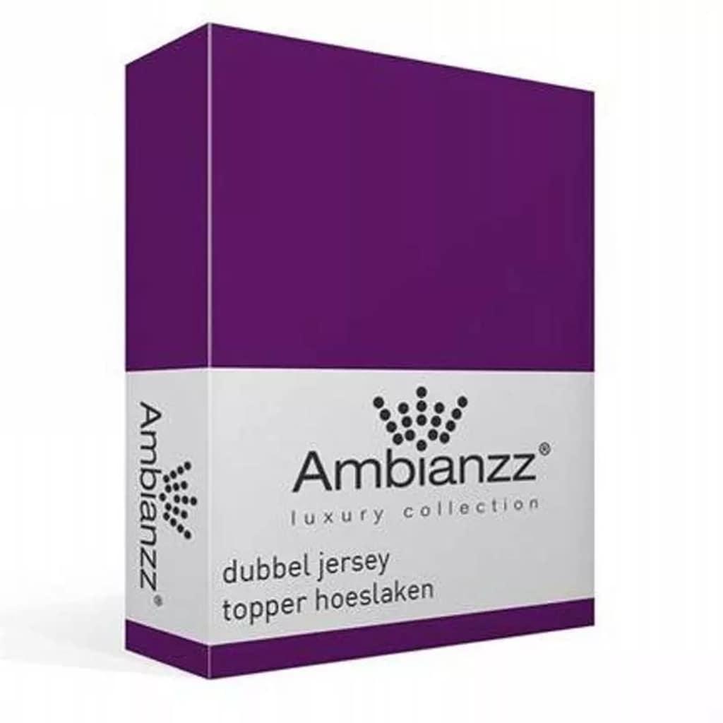 Afbeelding van Ambianzz Dubbel Jersey Topper hoeslaken