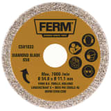FERM Diamond Saw Blade Steel CSA1033
