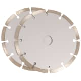 FERM Diamond Saw Blades 2 pcs Steel WSA1001