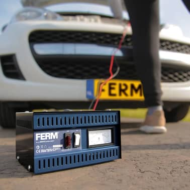 FERM Acculader metaal BCM1021[2/6]