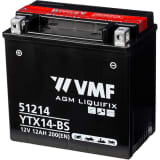 Batterie Liquifix 12 V 12 Ah MF YTX14-BS VMF Powersport