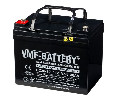 VMF AGM Deep Cycle Batterie 12 V 36 Ah DC36-12[2/2]