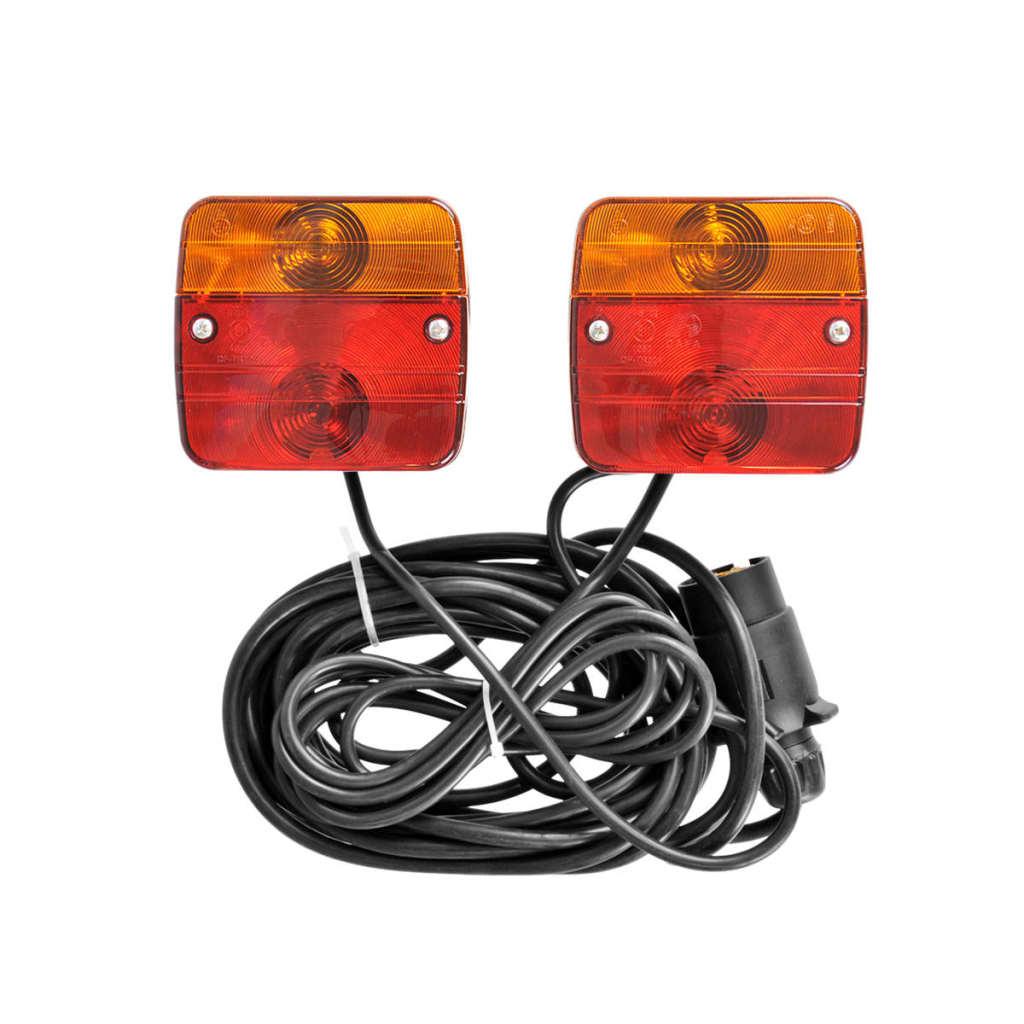 99404009 ProPlus Magnetische Anhängerleuchten 7,5 + 2,5 m Kabel 330418