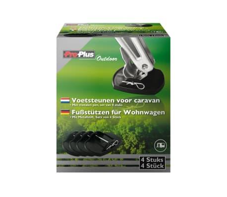 ProPlus Fußstützen für Wohnwagen mit Metallstiften 4er-Set 361528[3/4]