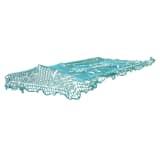 Filet couvre remorque 2,50x3,50M avec cordon élastique