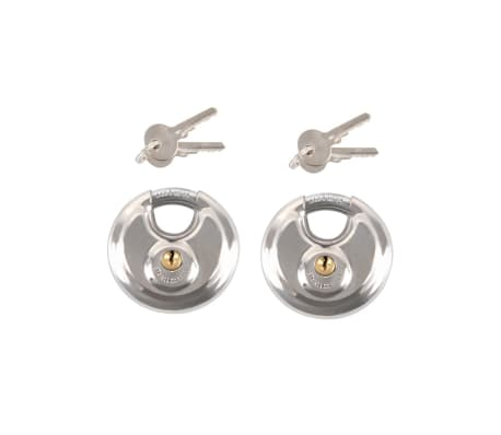 ProPlus Discus slot met sleutel 70 mm 2 stuks 341319S[1/2]