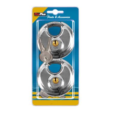 ProPlus Discus slot met sleutel 70 mm 2 stuks 341319S[2/2]