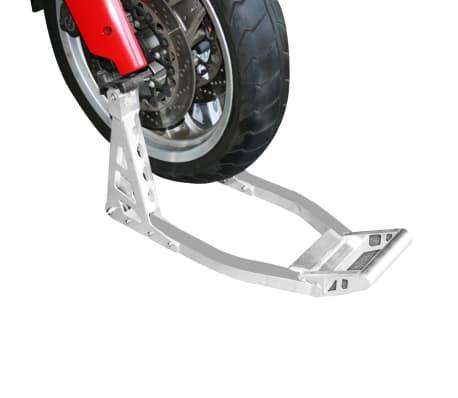 Béquille de stand aluminium avant pour moto[4/4]