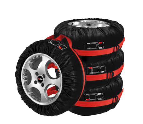 ProPlus Reifenschutzhüllen 4er-Set mit Tragetasche 390056