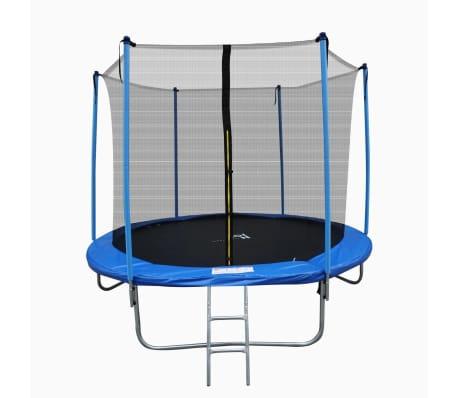 Trampoline - Ø 244cm - incl. veiligheidsnet en trap - hoogte 51 cm
