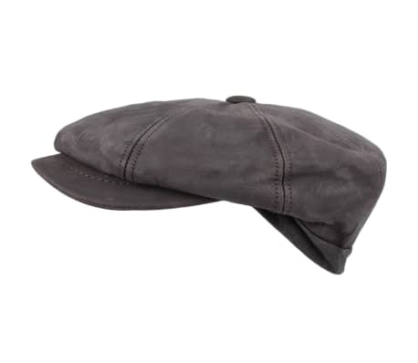 HORKA Casquette Cuir Nappa Taille 59 Marron 255010-0005[1/2]